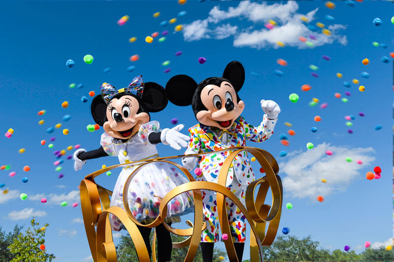 Mickey and Minnie Celebration - Get Your Ears On - What's Coming to Disneyland and Universal in 2019