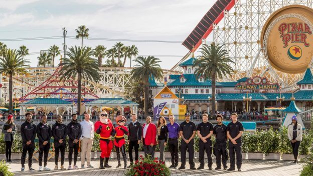 Rose Bowl Teams Meet Up at Disneyland