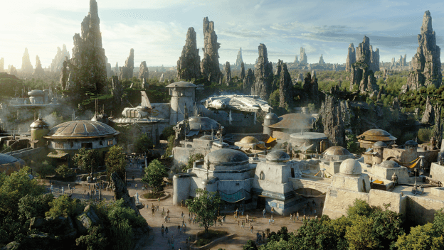 Star Wars Land Sneak Peek
