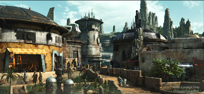 Star Wars: Galaxy's Edge Reservations at Disneyland