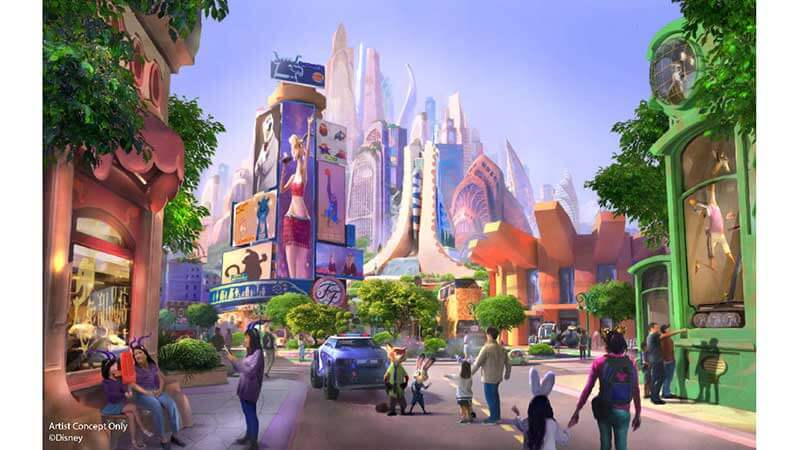 Zootopia Disneyland Shanghai - Explore New Destinations