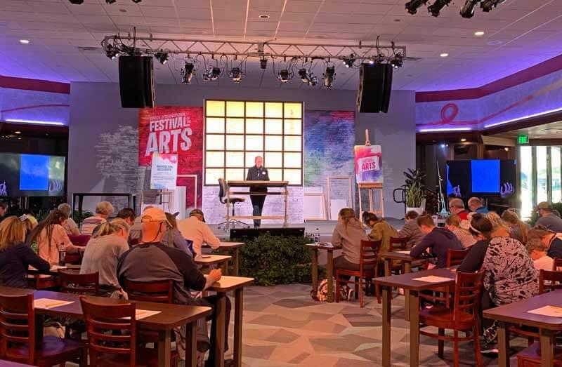 Epcot Festival of the Arts Seminar