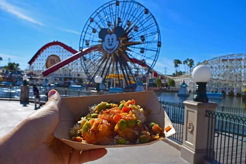 Lunar New Year at Disney California Adventure - Crispy Shrimp