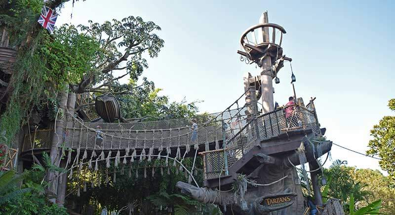 Tarzan's Treehouse - Disneyland Hidden Gems