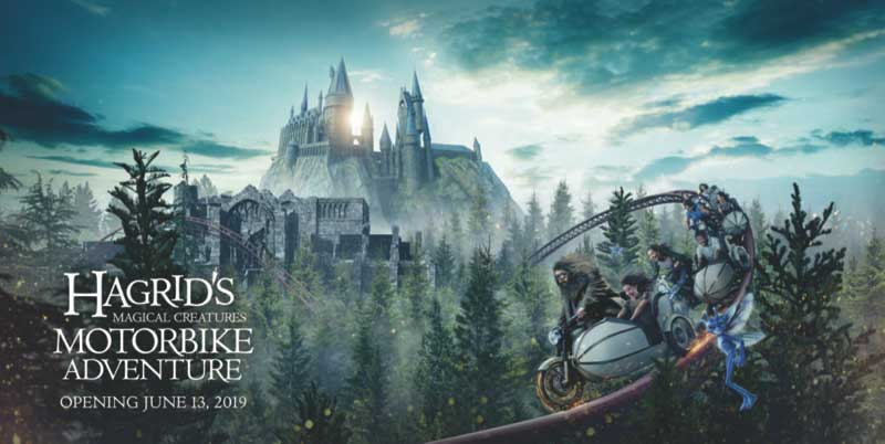 Hagrid's Magical Creatures Motorbike Adventure - Opening June 13, 2019 - What's Coming to Universal Orlando in 2019