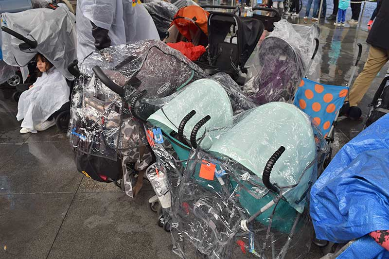 Disneyland Rainy Day Tips - Stroller Covers