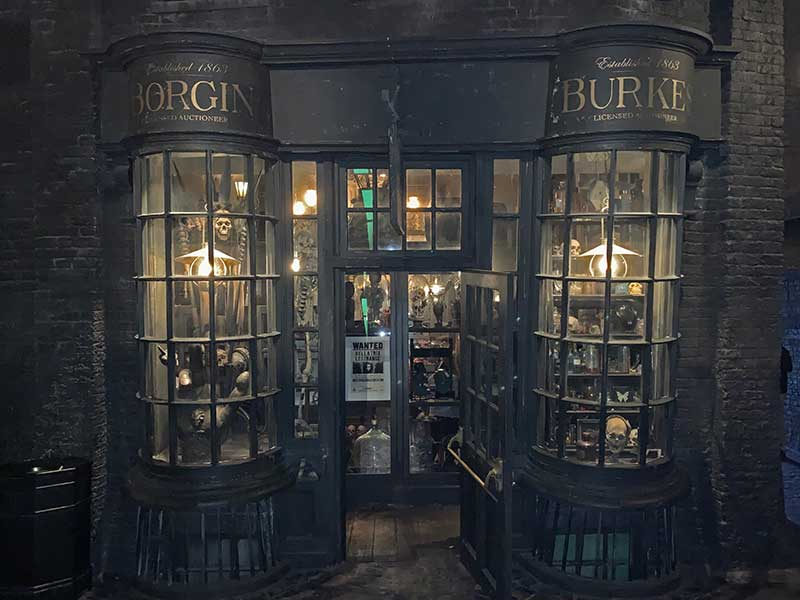 Universal Studios Florida Hidden Gems - Knockturn Alley