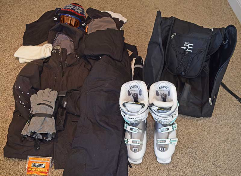 How to Pack for a Ski Trip - The Basics
