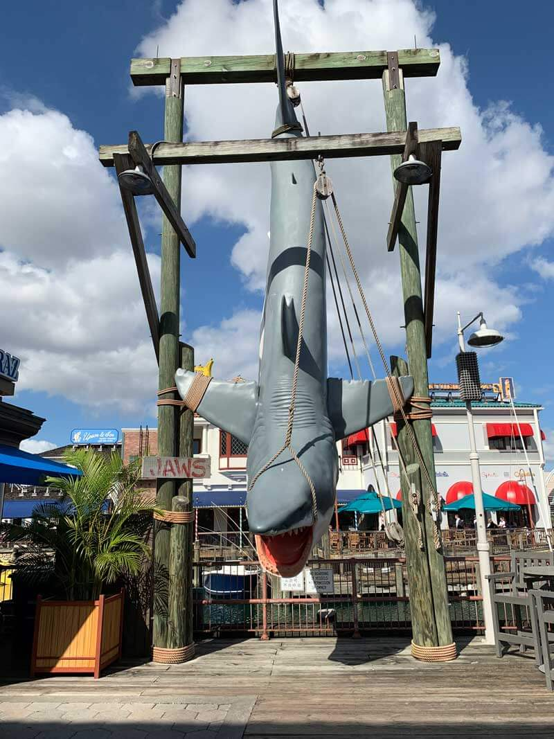 Universal Studios Florida Hidden Gem - Jaws