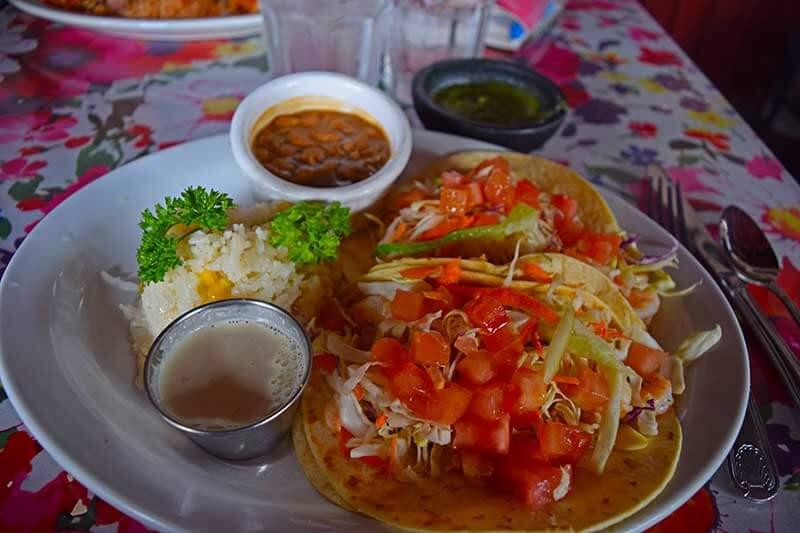 Visiting Los Angeles with Kids - Mexican Food