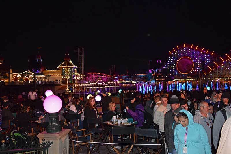 Disneyland's World of Color - Dessert Party Area