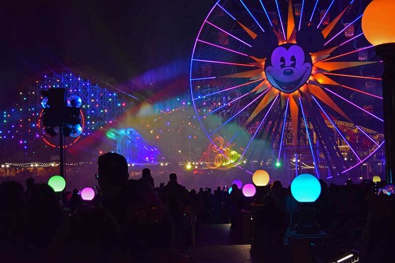 Disneyland's World of Color - World of Color Viewing