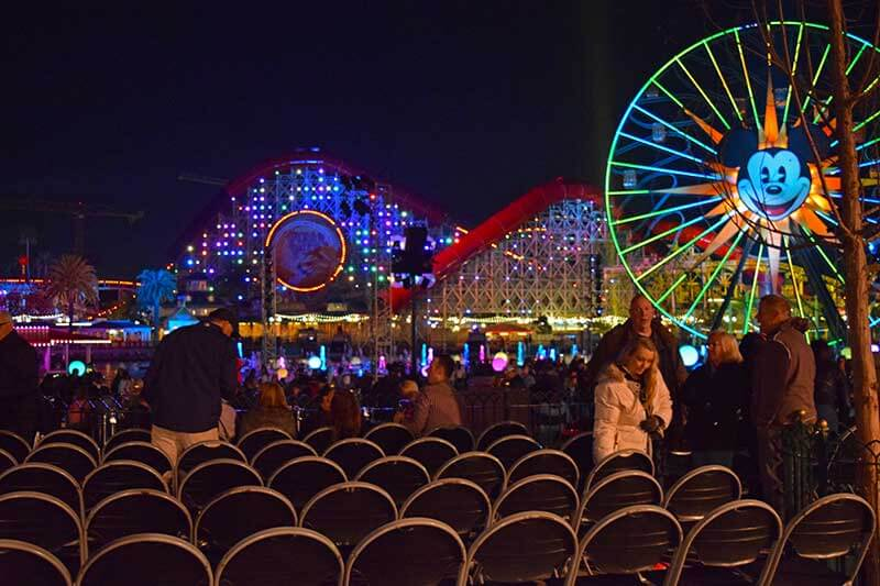 Disneyland's World of Color Viewing - VIP Area