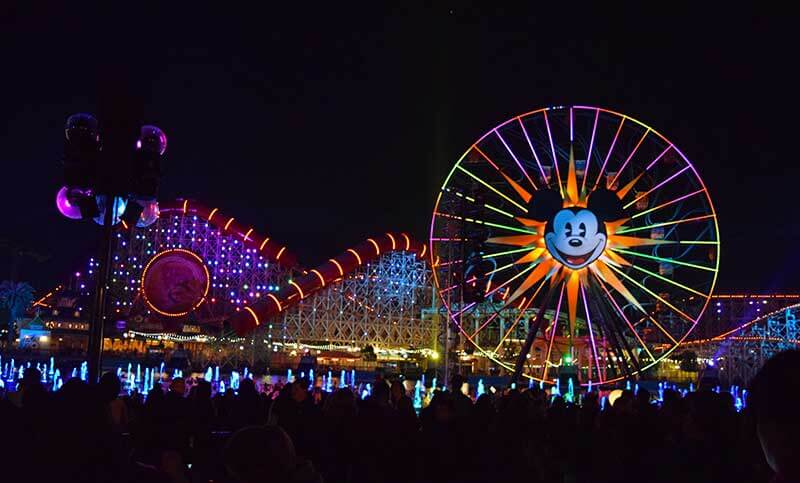 Maximize Your Time at Disneyland - World of Color Viewing - Pixar Pal-A-Round