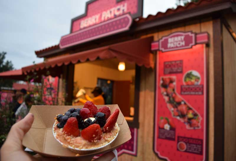 Disney California Adventure Food and Wine Festival Menus 2019 - Berry Patch