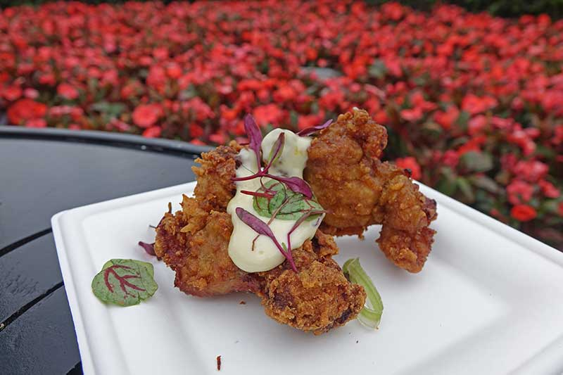 Epcot Flower and Garden - Crispy Citrus Chicken