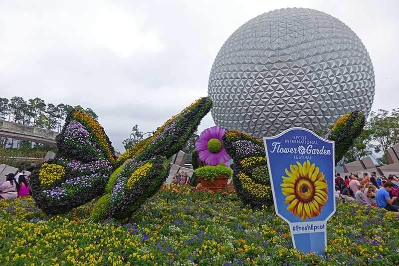 Epcot Flower and Garden - Main Entrance