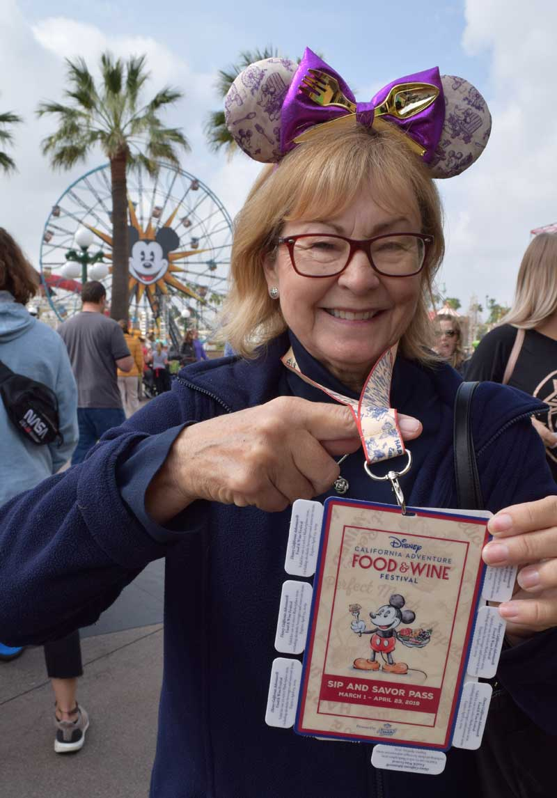 Disney California Adventure Food and Wine Festival 2019 - Sip and Savor Pass