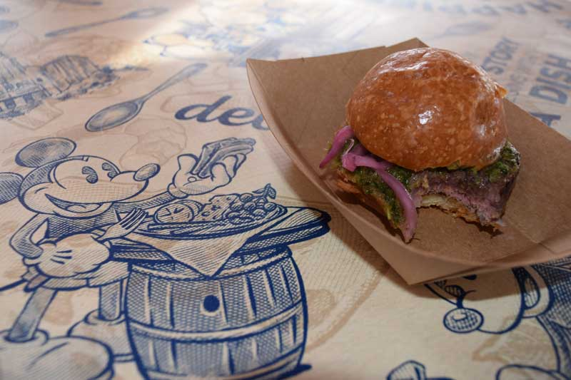 Disney California Adventure Food and Wine Festival 2019 - Beef Tenderloin Slider