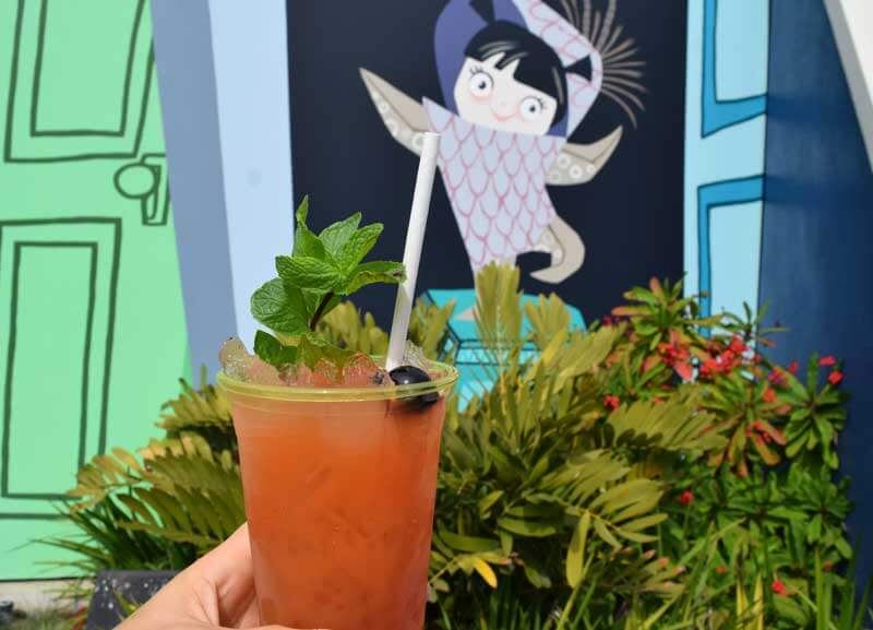 Disney California Adventure Food and Wine Festival 2019 - Tiki Cocktail