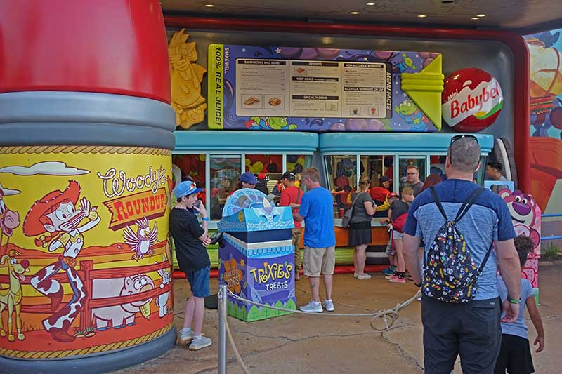 Toy Story Land - Dining Options