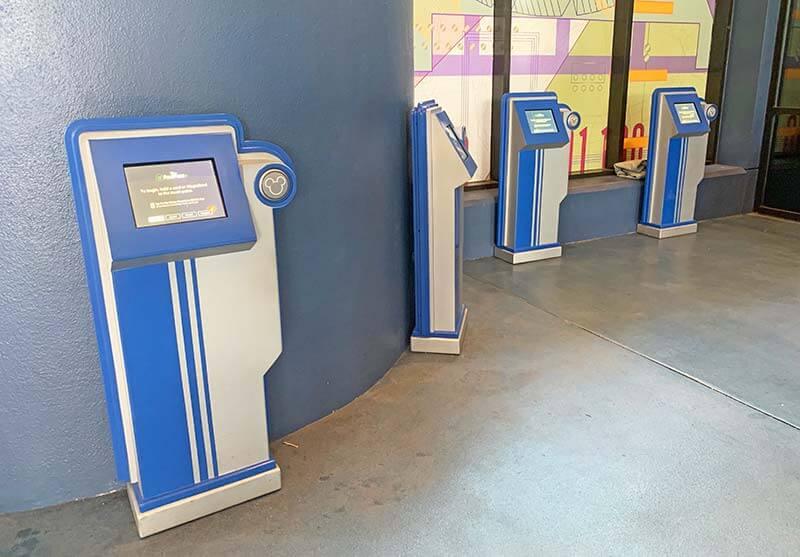 Epcot FastPass+ Kiosks