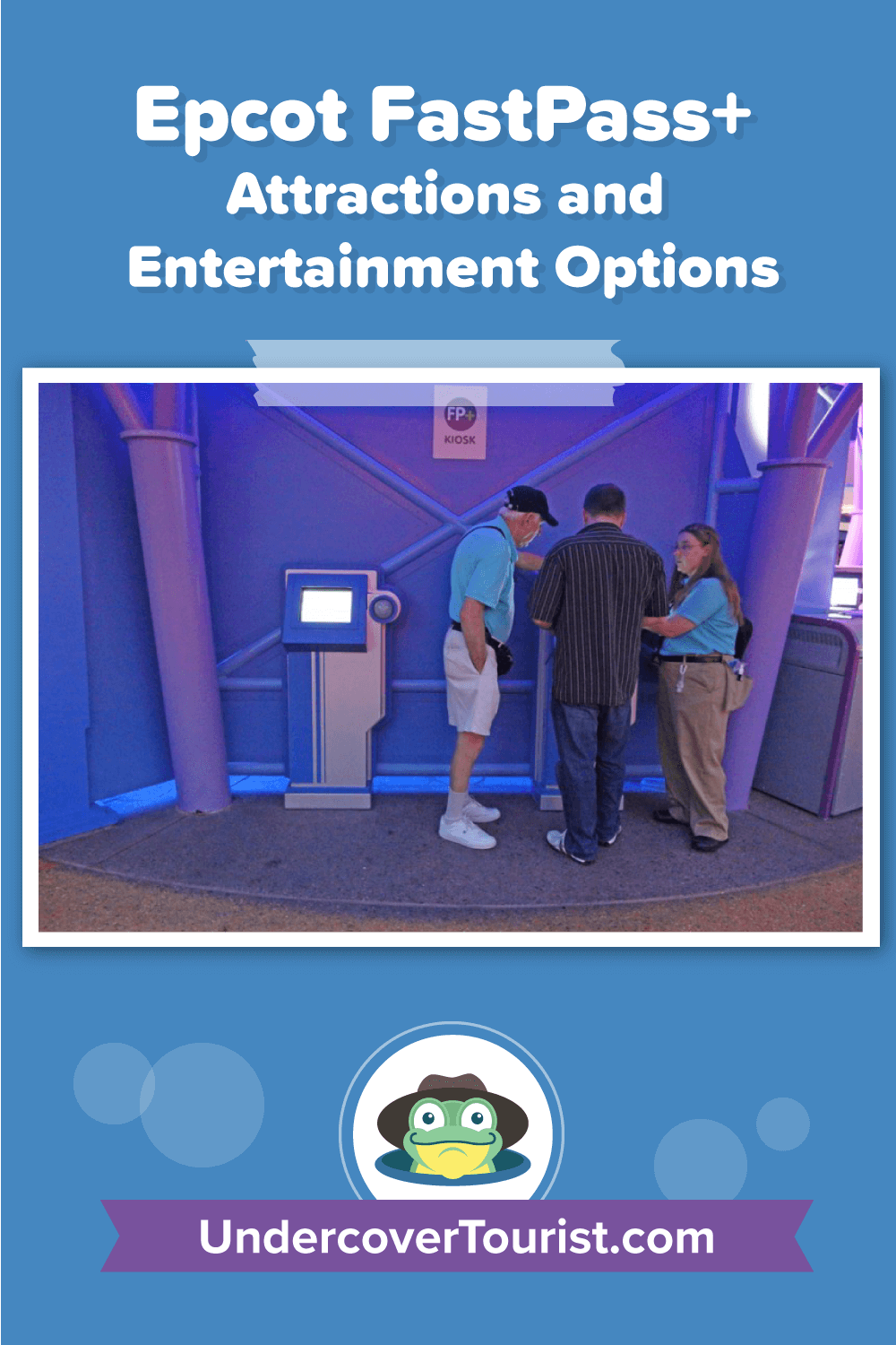 Epcot FastPass+ Attractions and Entertainment Options - Pinterest