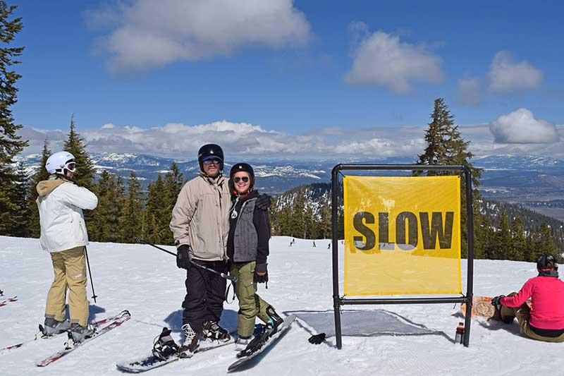 Tips for Beginner Skiers - Start Slow