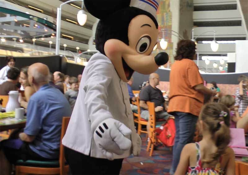 Chef Mickey's - Best Disney World Character Dining