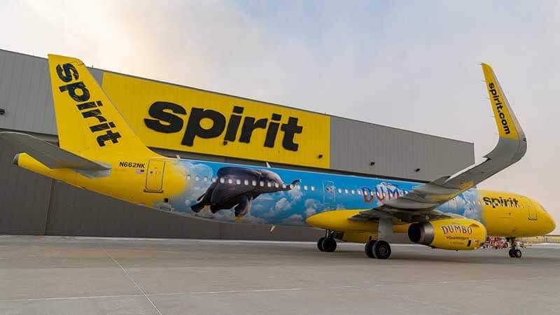 New Dumbo Jet, Spirit Airlines