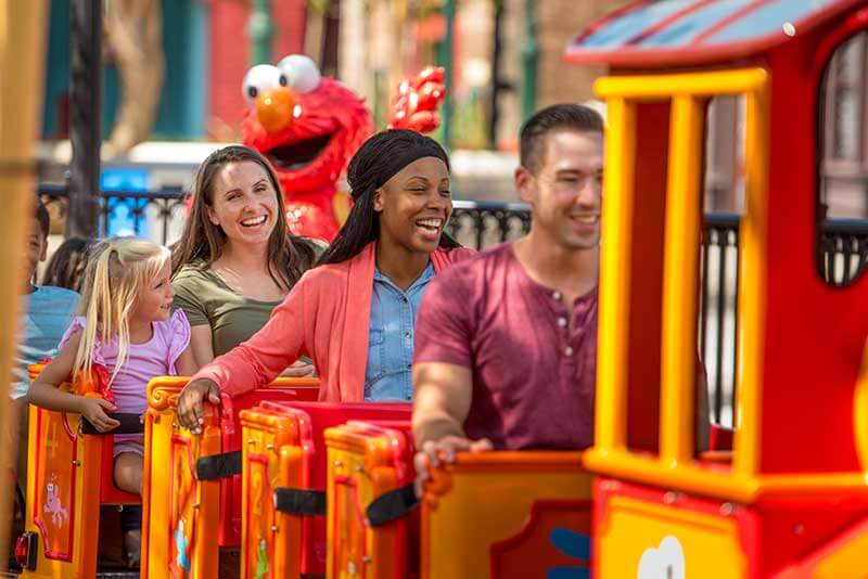 Sesame Street SeaWorld Orlando - Elmo's Choo Choo Train