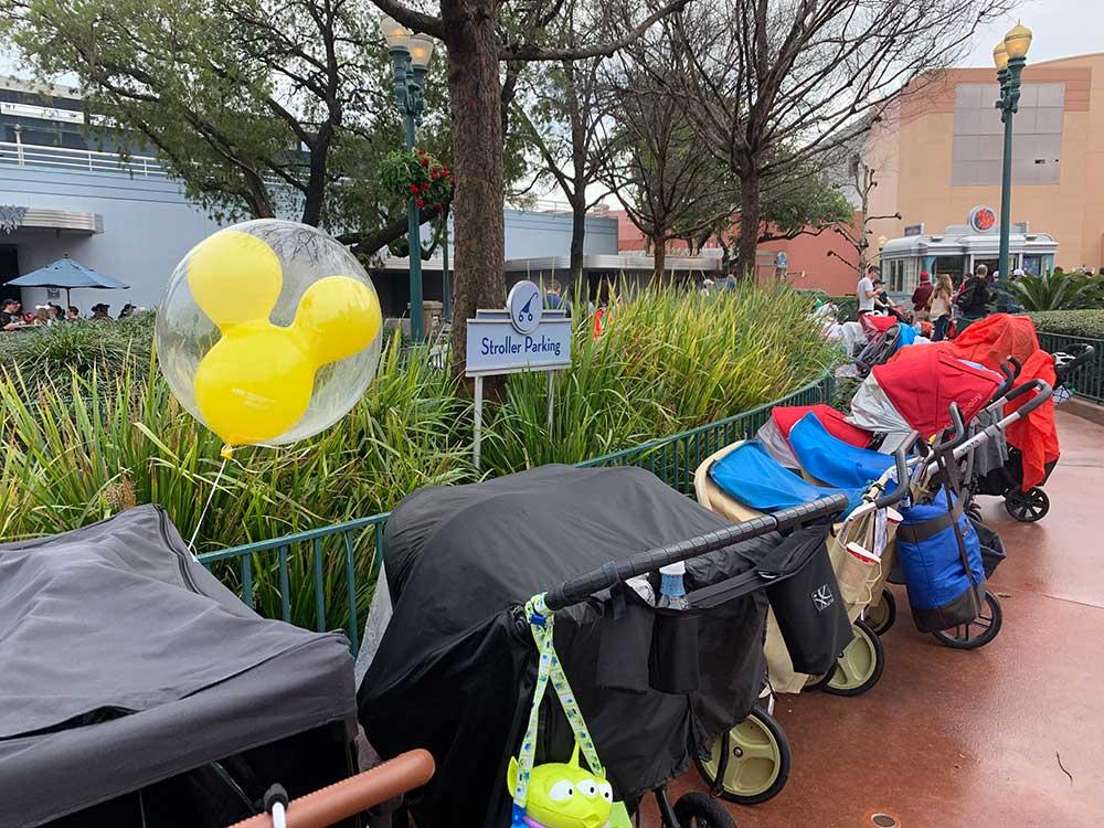 Stroller at Disney World - Stroller Parking at Disney World