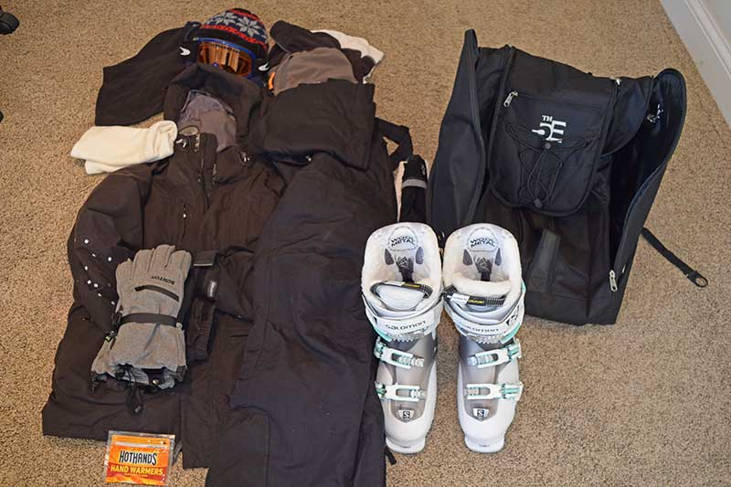 Timeline for Planning a Ski Trip - Assess Clothing Needs