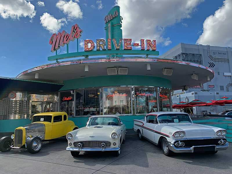Best Universal Studios Counter Service Restaurants - Mel's Drive In