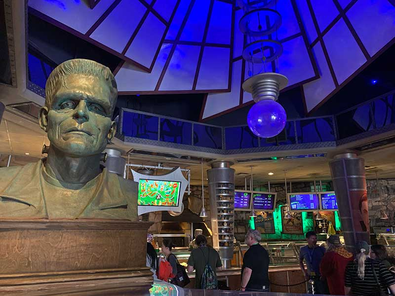 Best Universal Studios Counter Service Restaurants - Monster Cafe