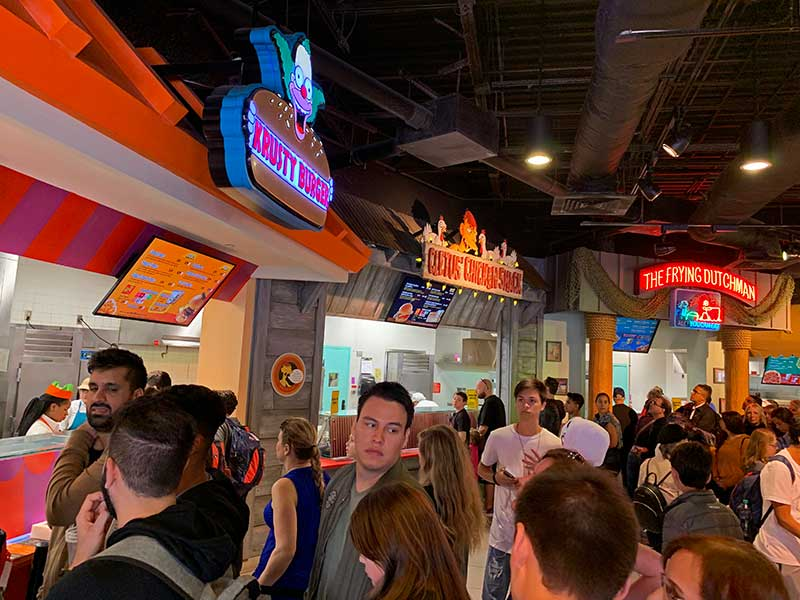Best Universal Studios Counter Service Restaurants - The Simpsons
