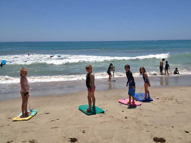 Visiting San Diego with Kids - Surf Lessons