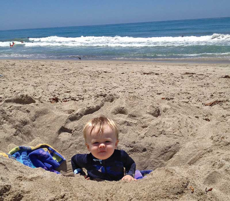 Visiting San Diego with Kids - Hit the Beach