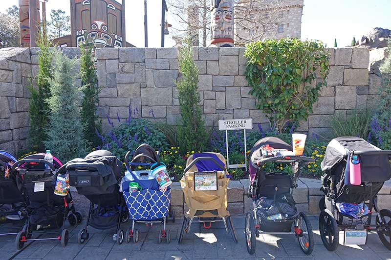 18 Tips for Using a Stroller at Disney World