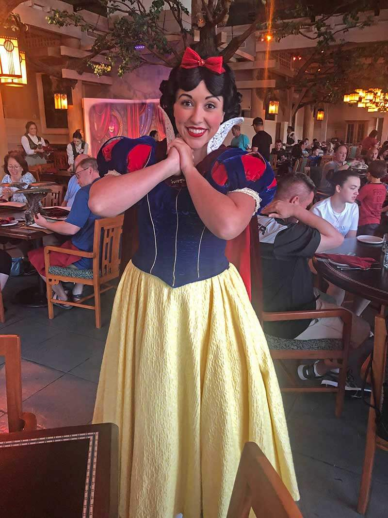 Best Character Dining at Disney World - Storybook Dining at Artist Point