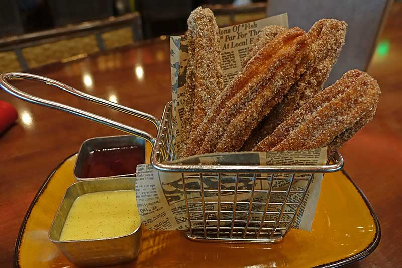 Gluten-Free at Disney World - Nomad Lounge Churros