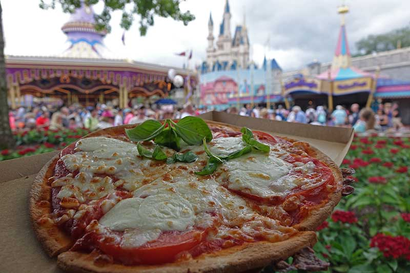 Gluten-Free at Disney World - Pinnochio Haus Pizza