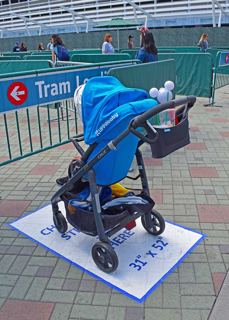 Top 10 Tips for Using a Stroller at Disneyland - Stroller at Security