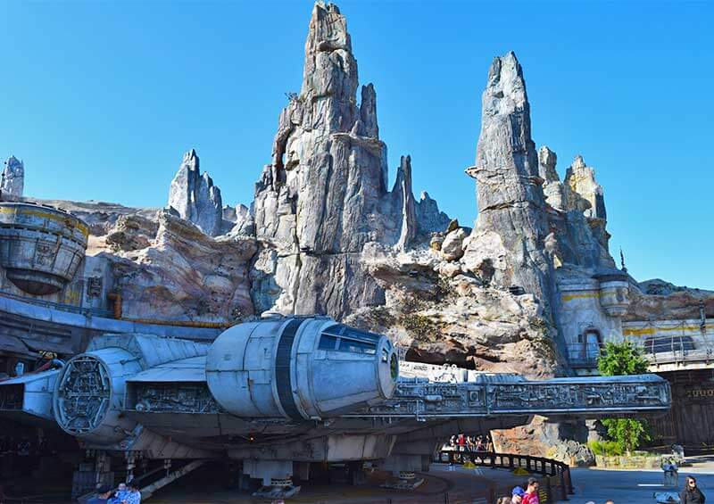 What's Coming to Disneyland and Universal in 2019 - Millennium Falcon