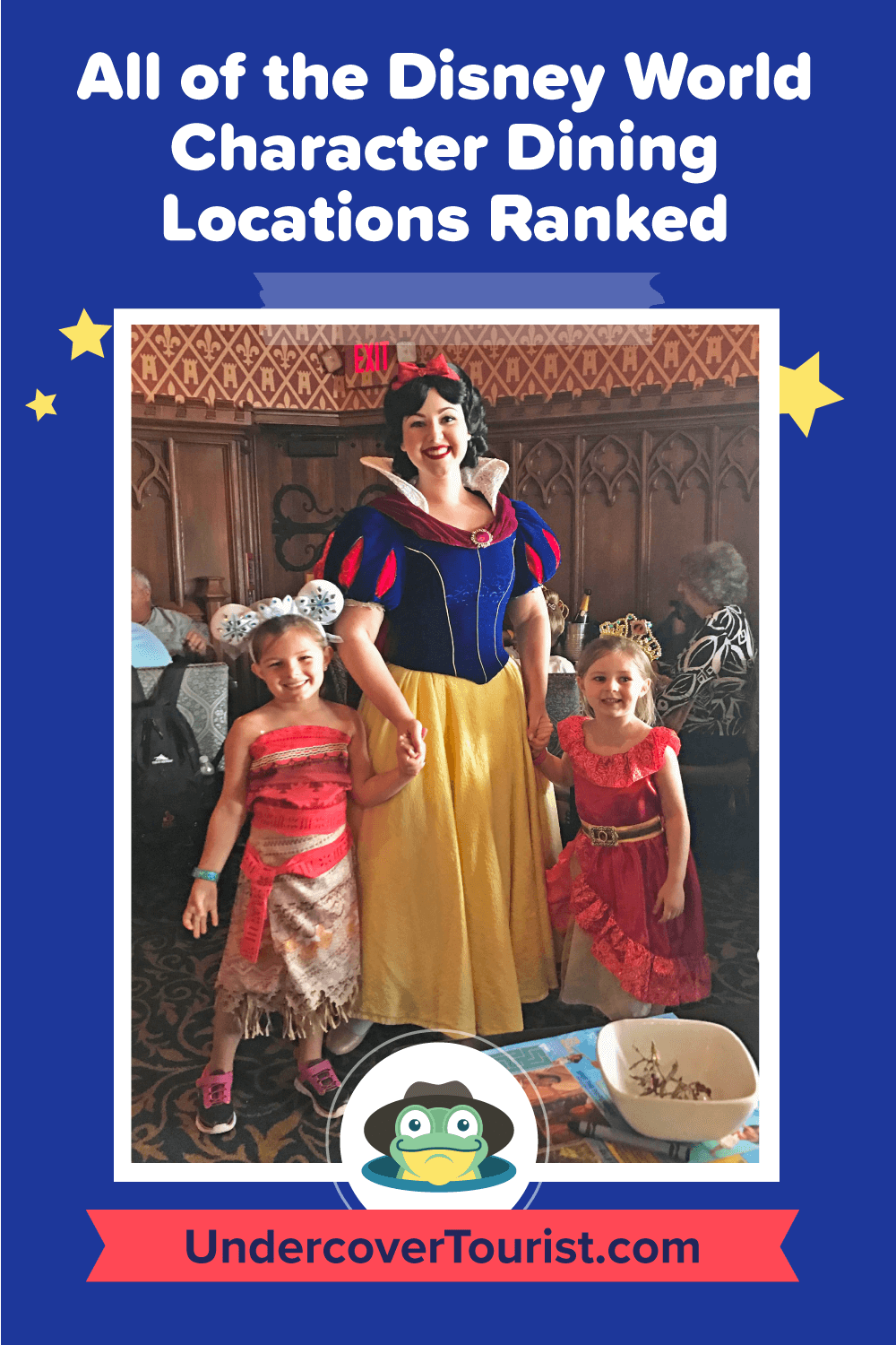 All Of The Disney World Character Dining Locations Ranked