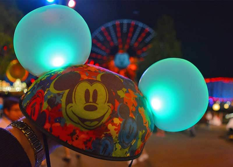 Enjoying Light-Up Fun with Made With Magic Ears and Wands at Disneyland