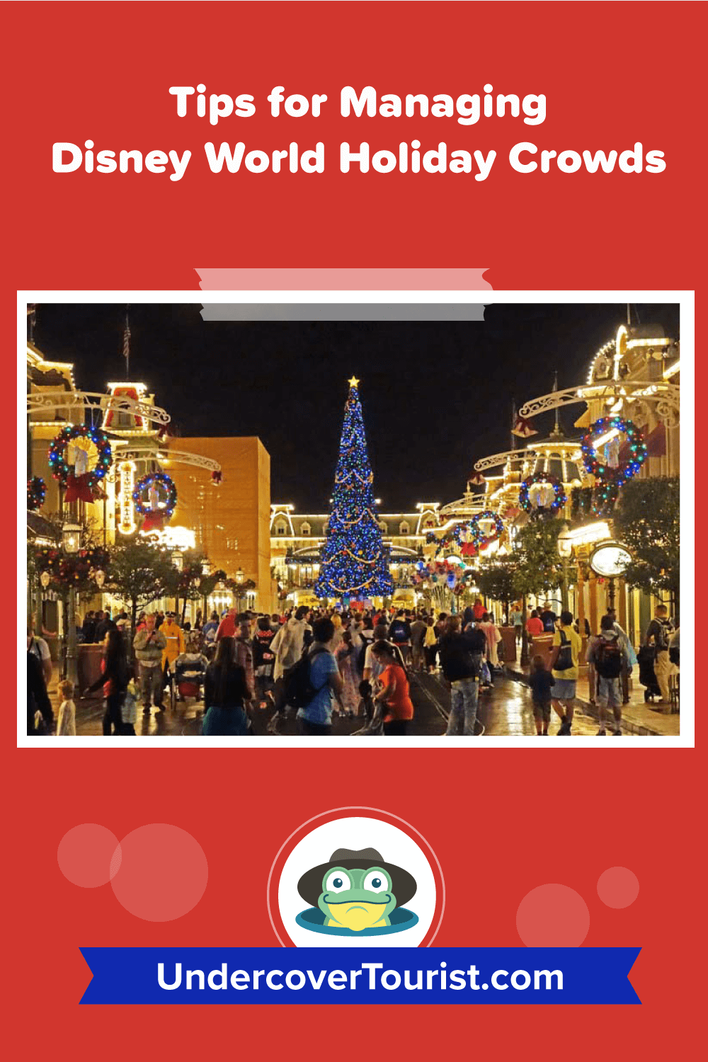 Tips for Managing Disney World Holiday Crowds - Pinterest