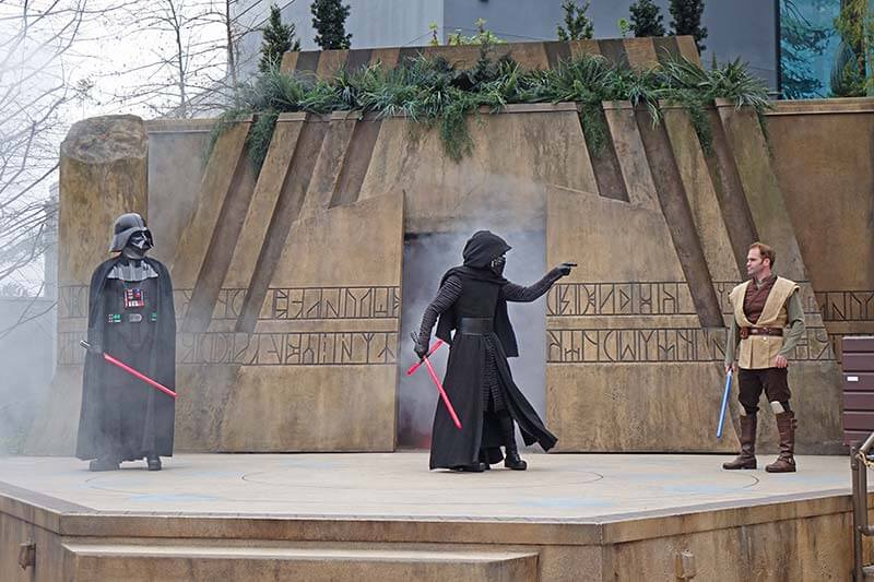 Jedi Training - Darth Vader and Kylo Ren Arrive