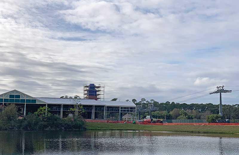 Disney Skyliner Transportation System - Caribbean Beach Hub