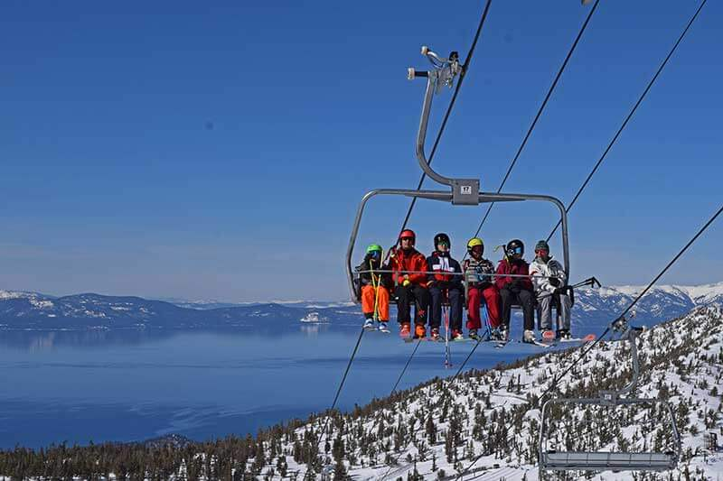 Frog Family Insider's Guide to Heavenly Ski Resort Lake Tahoe